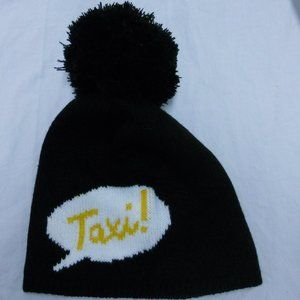 Kate Spade Taxi! Knit Hat NWT